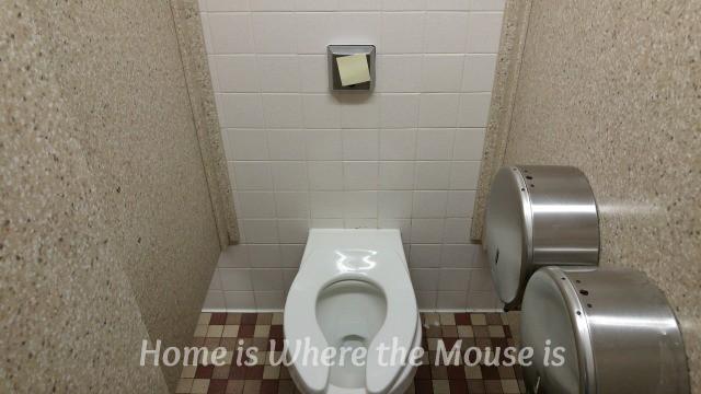 post it toilet