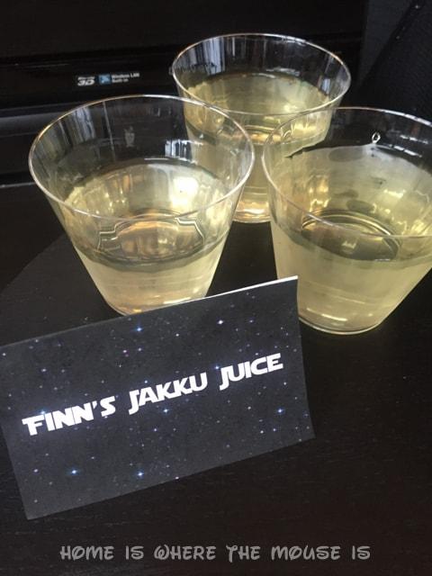 Finn's Jakku Juice