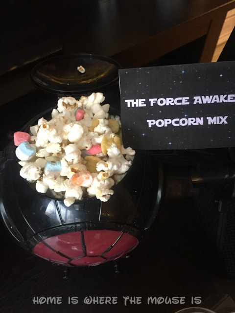 The Force Awakens Popcorn Mix