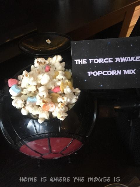 The Force Awakens Popcorn Mix