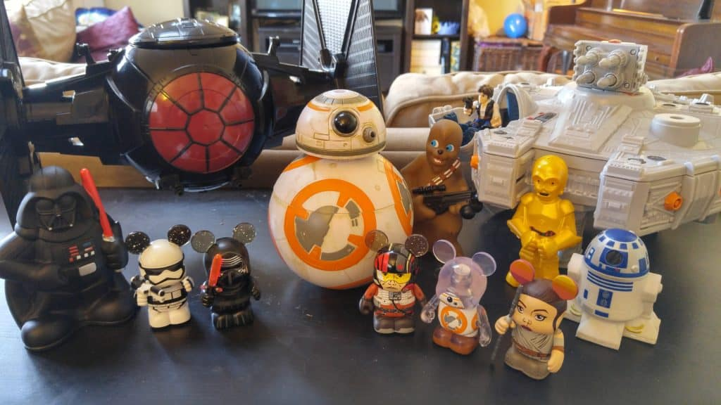 Star Wars Force Awakens Movie Night Decor
