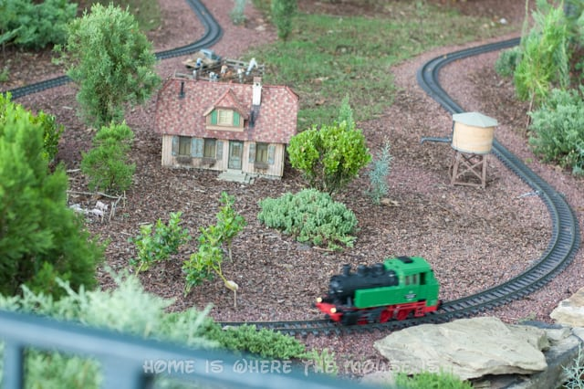 You can find this model railroad as part of the landscape in Epcot's World Showcase