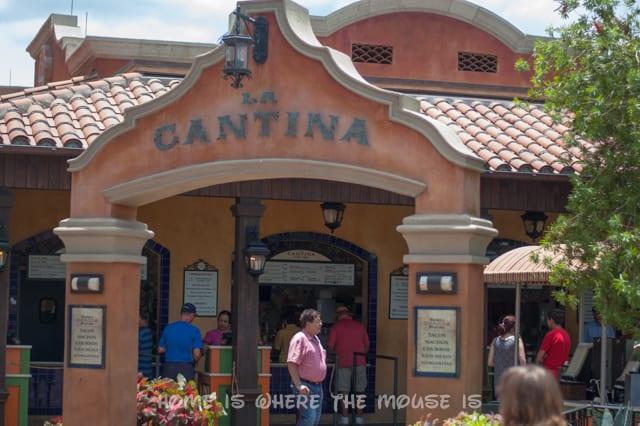 La Cantina de San Angel in Epcot's Mexico Pavilion