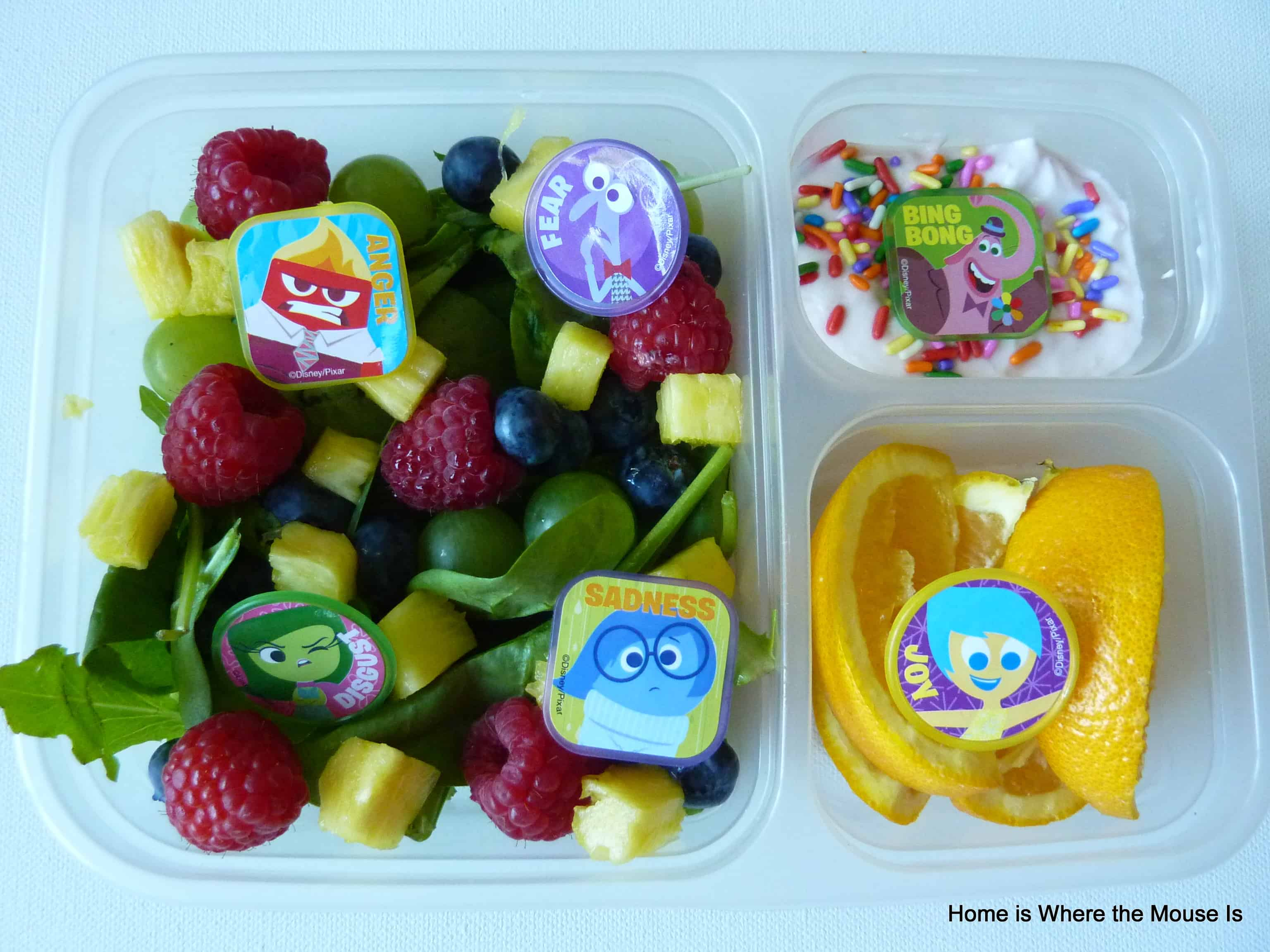 Inside Out Themed Lunch