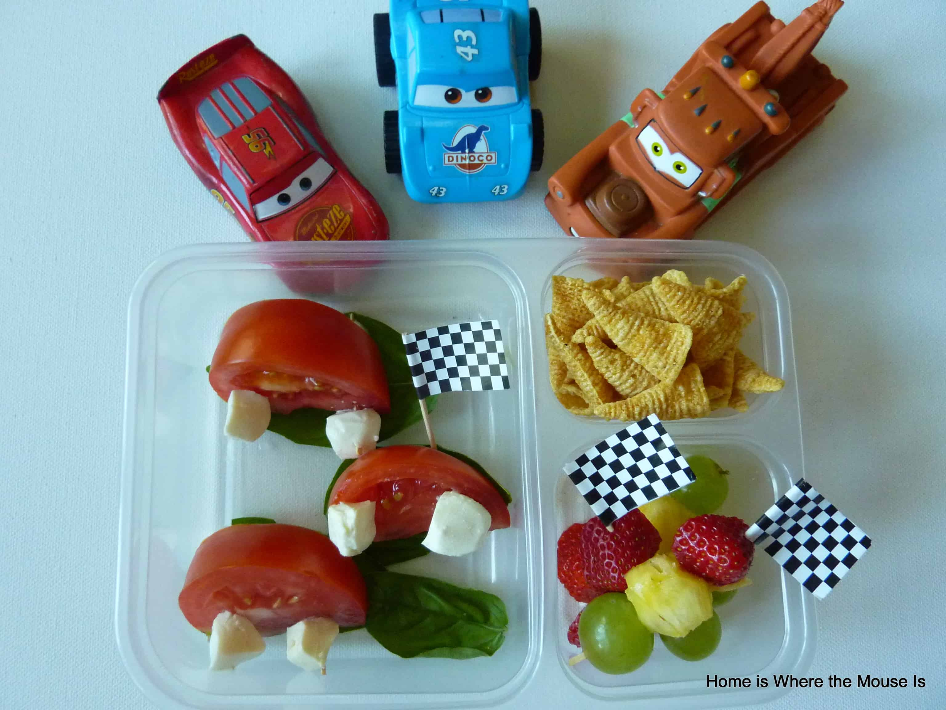 Cars themed lunch